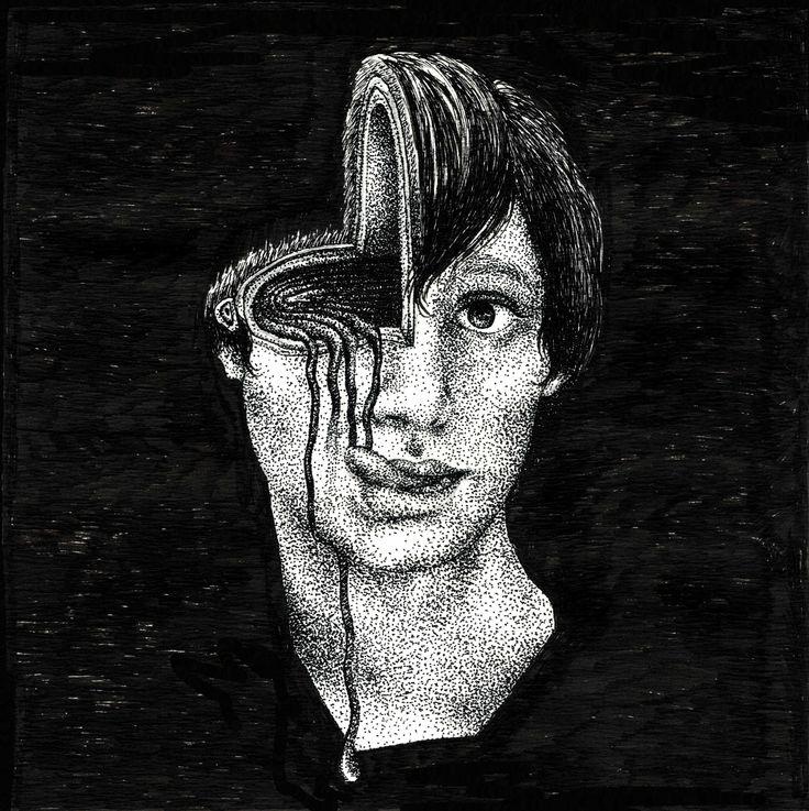 J'ai bon gout, 15x15 cm, encre sur papier, 2014.