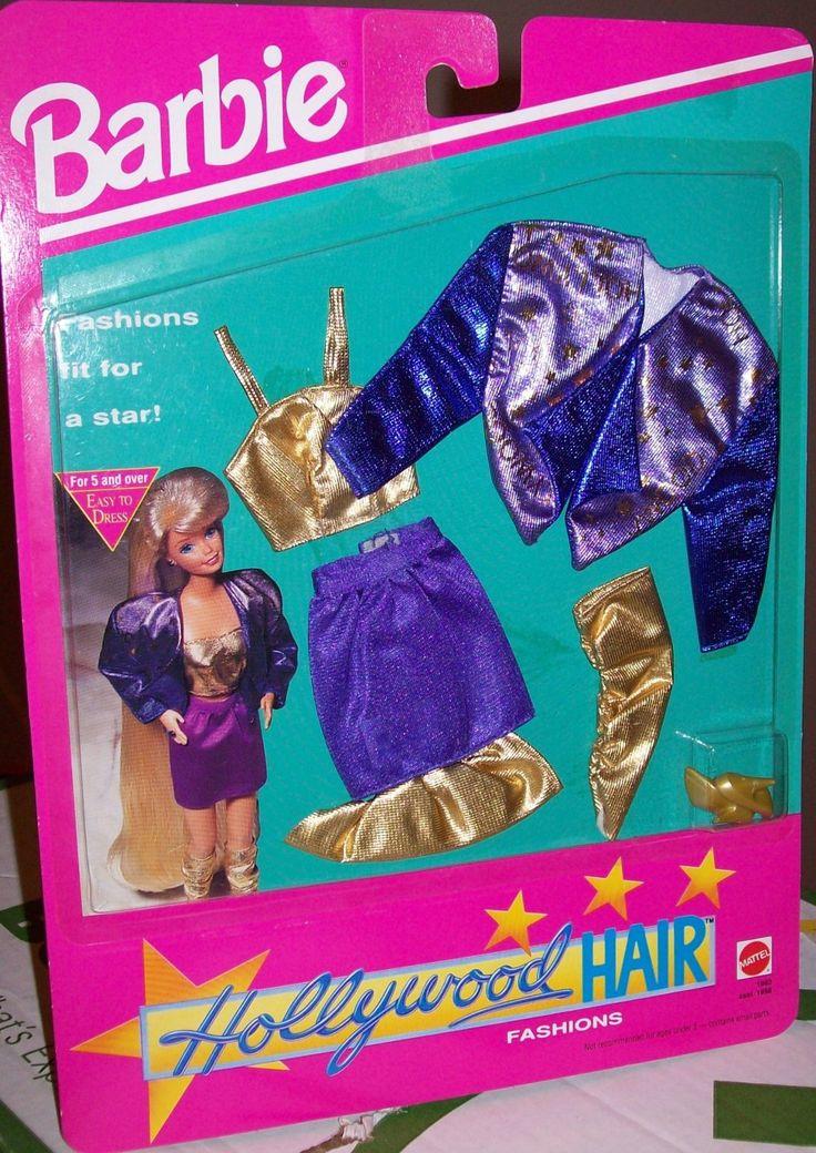 Mody Barbie Hollywood Hair:: Amazon.com Zabawki