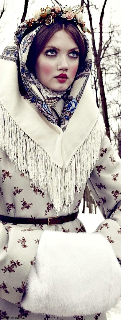 The Anastasia of winter - Vogue Japan december 2013 | The House of Beccaria#