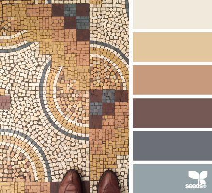 Encantada com esta palete de cores #homedeco