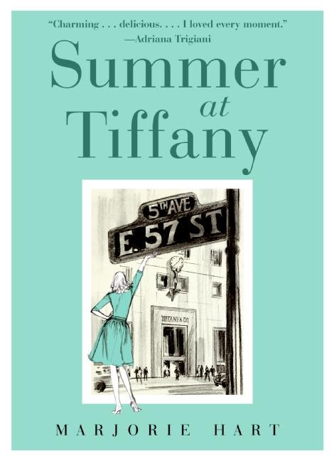 Summer at Tiffany...Worth Reading,  Dust Jackets, Book Worth, Summer, Marjorie Hart,  Dust Covers, Tiffany, Book Jackets,  Dust Wrappers