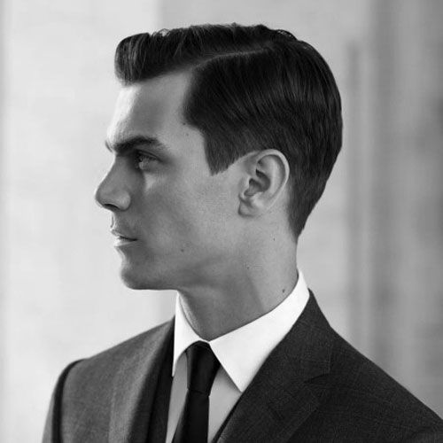 Classy Hairstyles - Classic Side Part
