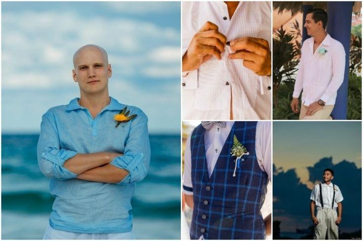 ¿Qué puede utilizar el novio para una boda en la playa? Les hemos preparado esta guía sobre qué tener en cuenta a la hora de escoger su look.