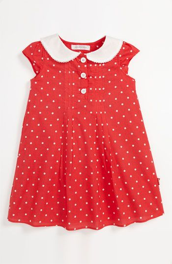 Pumpkin Patch Polka Dot Dress (Baby) available at #Nordstrom