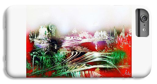 Fantasy Land IPhone 6 Plus Case Printed with Fine Art spray painting image Fantasy Land by Nandor Molnar (When you visit the Shop, change the orientation, background color and image size as you wish)