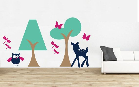 Nursery Wall Decal  Playroom Wall Decal  Play Room by DecalSisters, $37.00