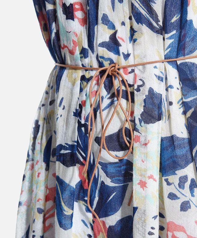 Floral print maxi dress - OYSHO