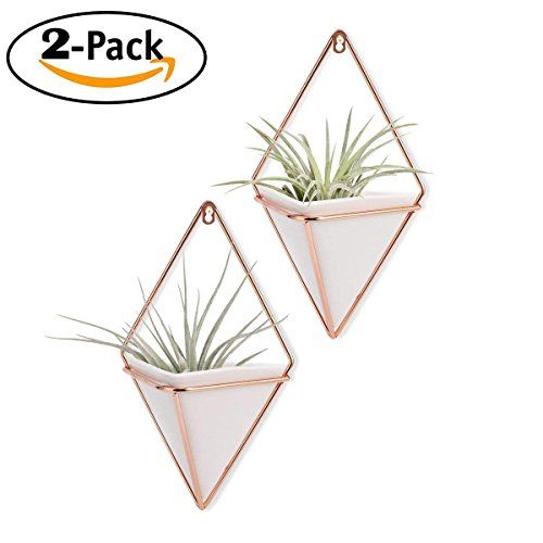 Geometric Hanging Wall Flower Pots Succulent Artificial Flower Container-02