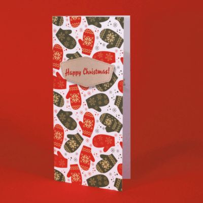 Uncoated Christmas Cards - Christmas Card Printing