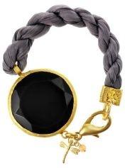 Lite Kalabalik Sober Grey Silk Bracelet