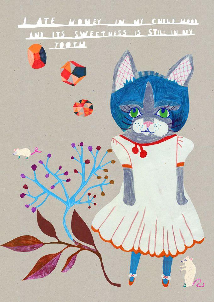 Image of The sweetness of my childhood Monika Forsberg