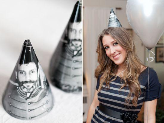 Sugar and Charm: 60th birthday party: Birthday Parties, Cute Ideas, Birthday Hats, Birthdays, 60Th Birthday Party, Ideas Party, Birthday Party Ideas