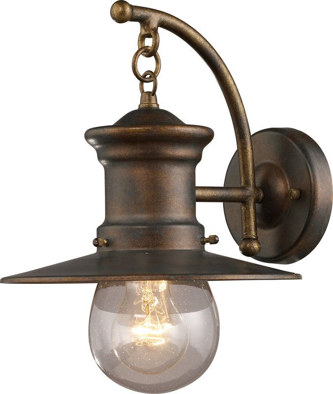 View The ELK Lighting 42006 1 Maritime Light Outdoor Wall Sconce At LightingDirect