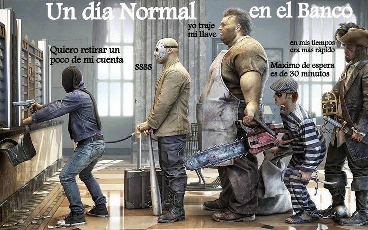 Un día normal en Bolivia