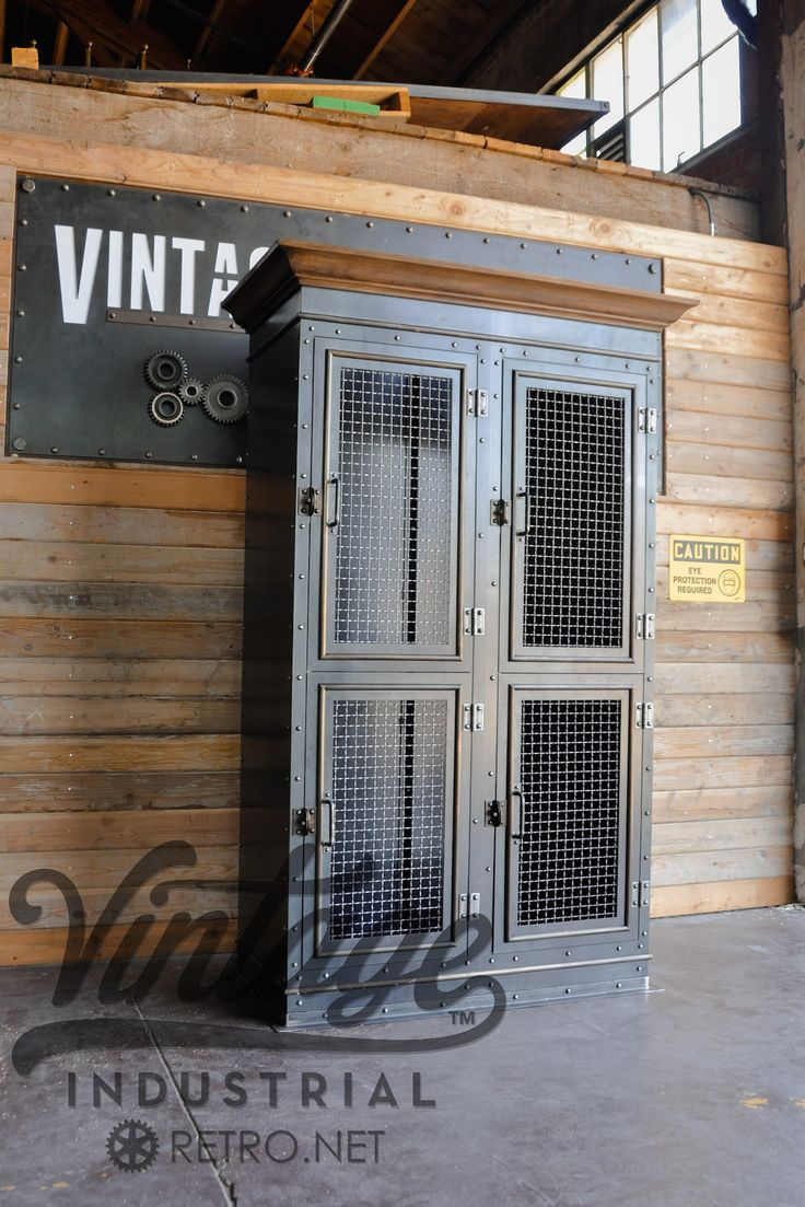 Size pictured: 24 D x 45 W x 84 T (custom sizing and configurations available) Shown with woven mesh doors, glass optional