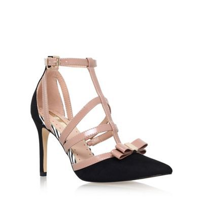 Miss KG Black 'Chyna' high heel sandals | Debenhams
