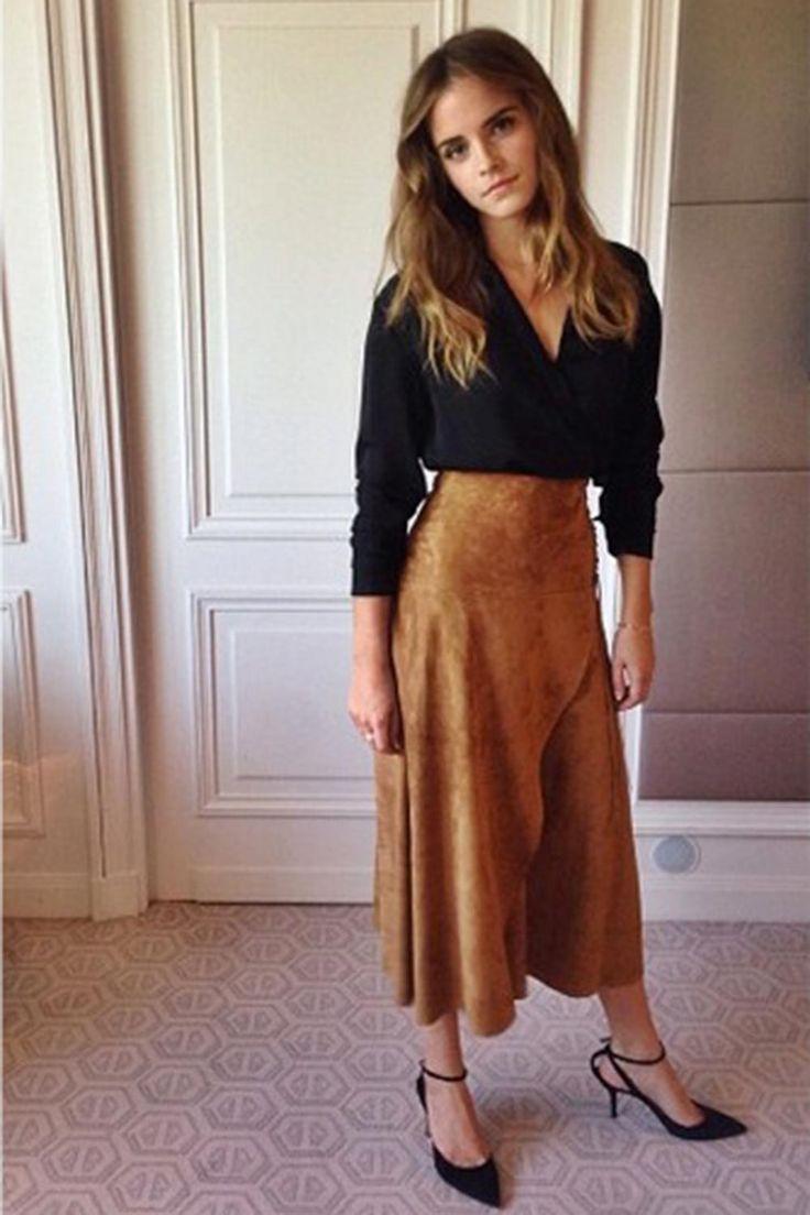 Emma Watson in Ralph Lauren - Best Dressed Celebrities This Week: 24 August   Harper's Bazaar