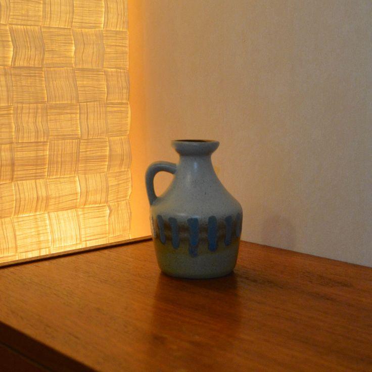 Strehla, GDR (1828-1989) Model: 999, Saxony, Germany (formerly East Germany). Vase - European  - Pottery - ceramics - mid centery