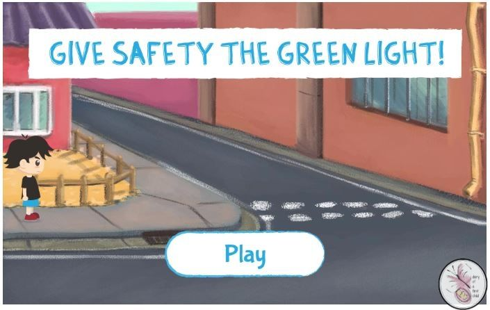 Free online game and resources for learning Road Safety Awareness