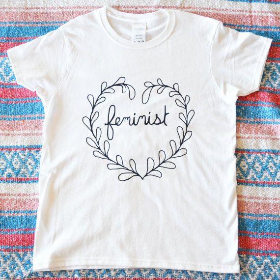Feminist Shirt: Riot Grrrl Cotton & Organic by FabulouslyFeminist