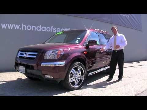2008 Honda Pilot  | Honda Of Seattle :-)