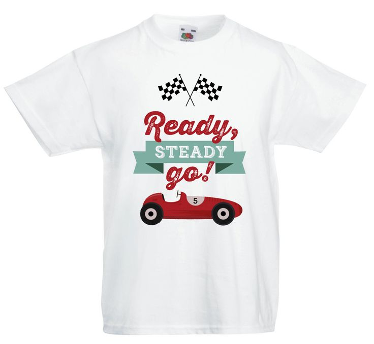 Racing car themed shirt - email jackie@babazoo.co.za for your birthday shirt.