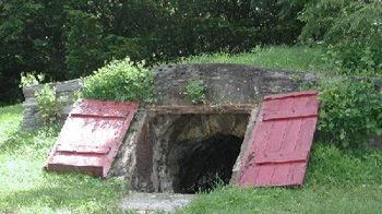 Before the Refrigerator, There was the Root Cellar. Here's How to Build One! Stores: Jams, Salted Meat, Bread, Butter, Cheese, Milk and Cream, Apples, Potatoes, Carrots, Plums, Pears, Peaches, Tomatoes, Cabbage, Wine, Beer, Cider, Grains, Nuts, Dried food, Canned Food and MORE!