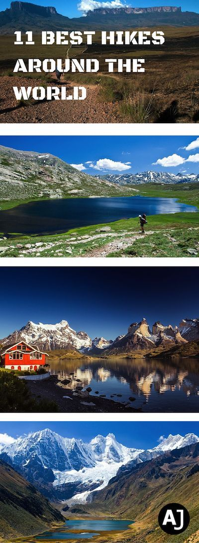 You'll find some of the best hiking routes from around the world listed in this article. It's the perfect travel bucket list for the avid hiker.