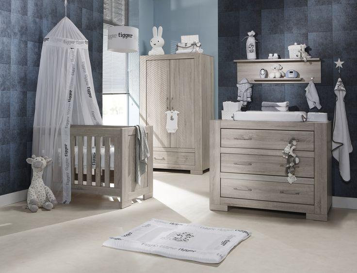 TWF Europe - Mobiliario Infantil - Babyroom - Babykamer - Conjunto modelo PALERMO - MDF laminado efecto madera