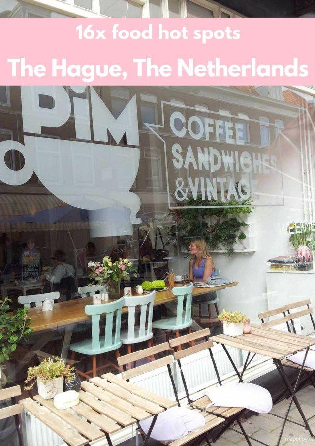 Map Germany Netherlands%0A   x eten en drinken in Den Haag