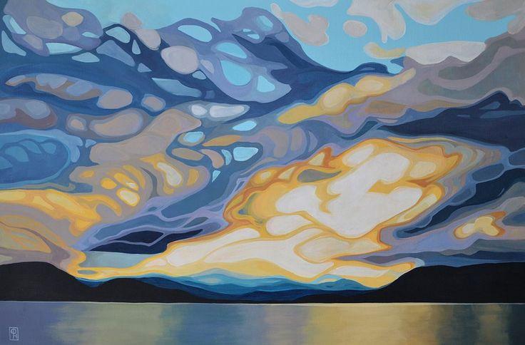 Mottled Sky by E.Hawkes