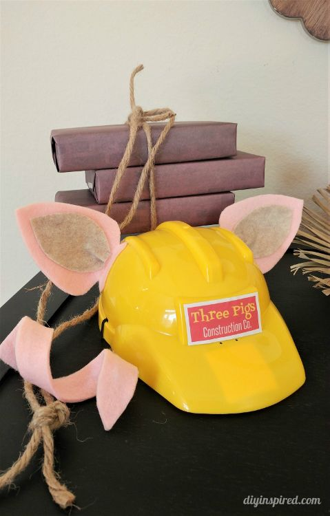 How to make Three Little Pigs DIY Costumes for Halloween or a school play. Tutorials include DIY ears, curly tails, and accessory bundles.