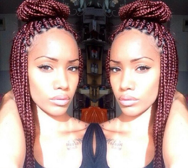 crochet braids with individual braids - Google Search