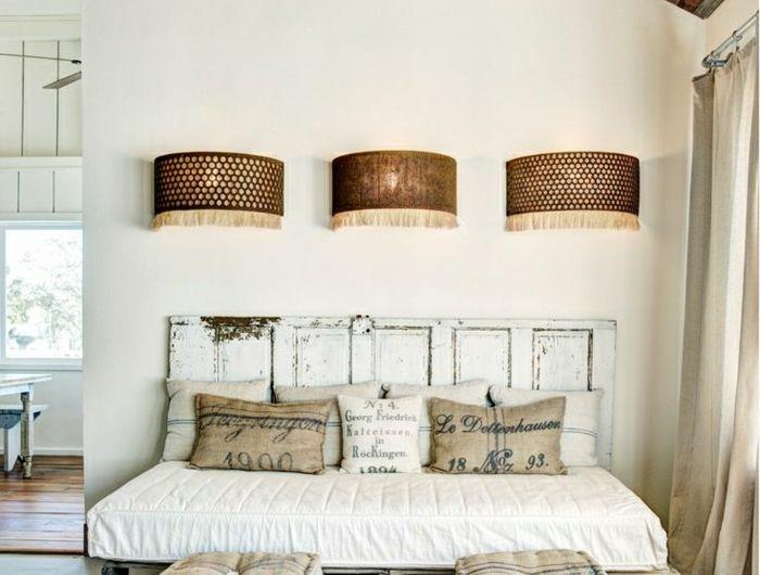 Dachwohnung Vintage Einrichtung Bett Aus Europaletten Selber Machen