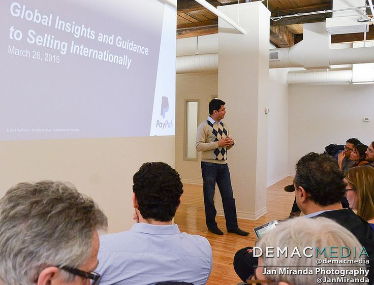 Global Insights & Guidance to Selling Internationally - presentation by Gautam Kalita, PayPal Canada's Business Initiative Leader.
