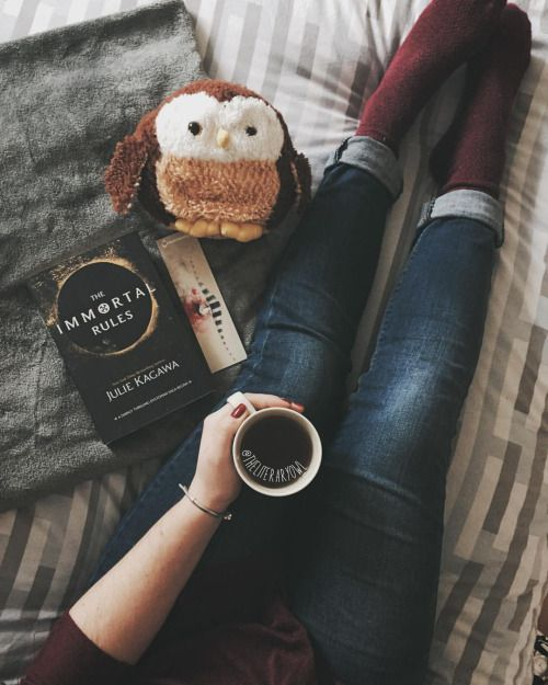 That is all I need - a cozy place, a cup of coffee and good book