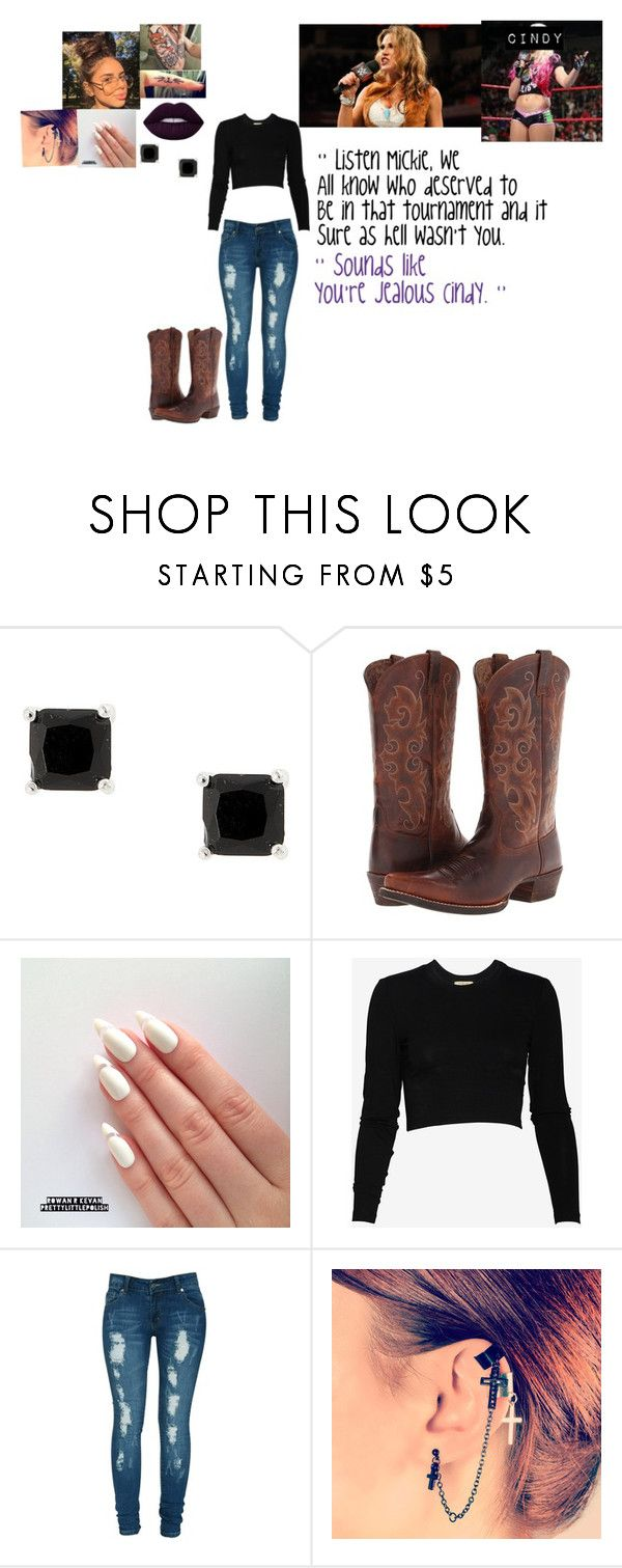 """🐈 Cindy Dark 🐈 Calling Out Mickie James ❌ READ DESCRIPTION ❌"" by iron-maiden-amy ❤ liked on Polyvore featuring Ariat, Torn by Ronny Kobo, Criminal Damage, WWE, raw, wweraw and wweoc"