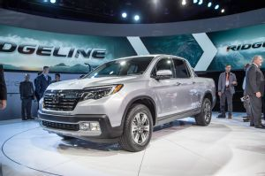 2017 Honda Ridgeline Debuts in Detroit to Take on Colorado, Tacoma. The second generation of Honda's pickup truck.
