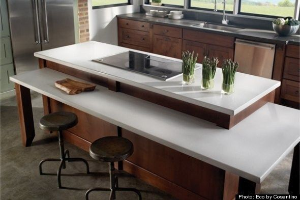 kitchen countertop materials green kitchen countertop option eco