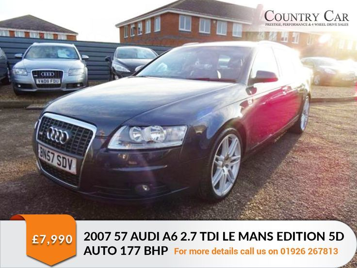 Nice Audi 2017: £7,990   2007 57 AUDI A6 2.7 TDI LE MANS EDITION 5D AUTO 177 BHP. Call Us On:01... Car24 - World Bayers Check more at http://car24.top/2017/2017/06/18/audi-2017-7990-2007-57-audi-a6-2-7-tdi-le-mans-edition-5d-auto-177-bhp-call-us-on01-car24-world-bayers/