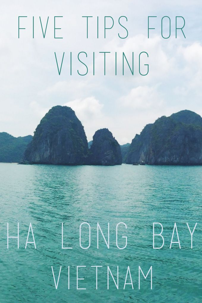 Five Tips for Visiting Ha Long Bay, Vietnam | thekitchenpaper.com
