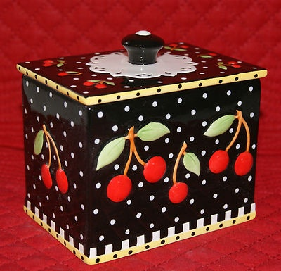 Great Mary Engelbreit Tea Box Very Cherry