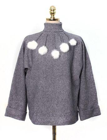 눈송이,knit