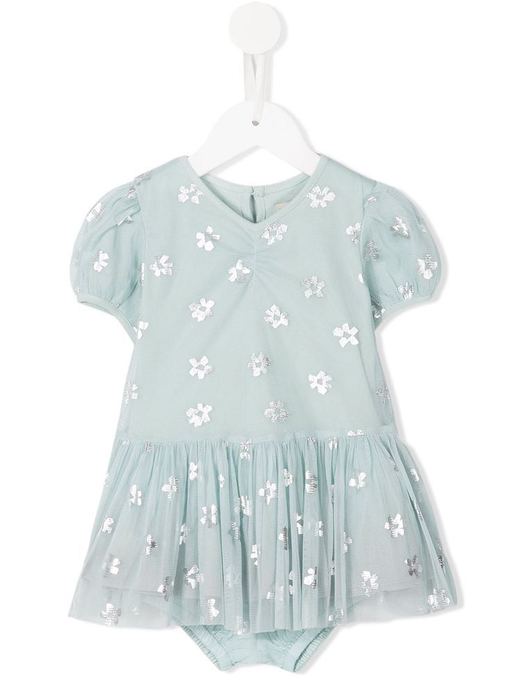 Stella Mccartney Kids floral print Missy dress