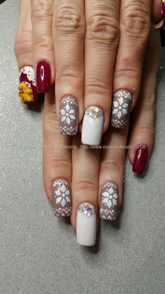 4695 best eye candy beautiful nail art images on pinterest eye eye candy nails training christmas jumper nail art with swarovski crystals and gingerbread man by elaine moore on 18 december 2015 at prinsesfo Image collections