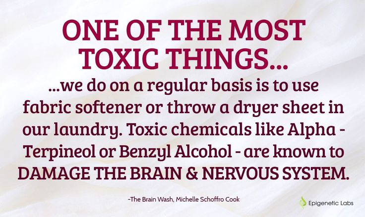 """Here is what is hiding in your fabric softener! Michelle Schoffro Cook reports, """"One of the most toxic things we do on a regular basis is to use fabric softener or throw a dryer sheet in our laundry. Toxic chemicals like Alpha-Terpineol or Benzyl Alcohol - are known to damage the brain and nervous system."""" (via Epigenetic Labs) Please re-pin. Together we are saving lives everyday. Join us for much more great information on The Truth About Cancer!"""