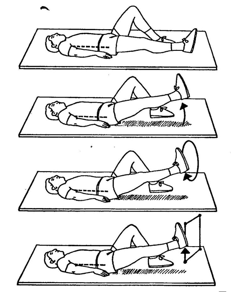 Best Physical Therapy Exercises For Lower Back Images On