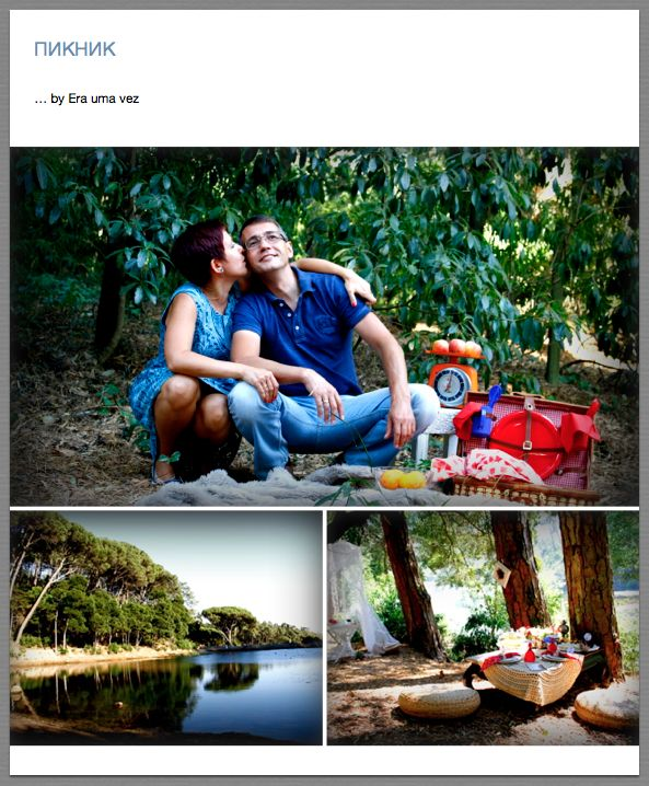 Picnic for a lovely couple in Lagoa azul - Sintra - Portugal