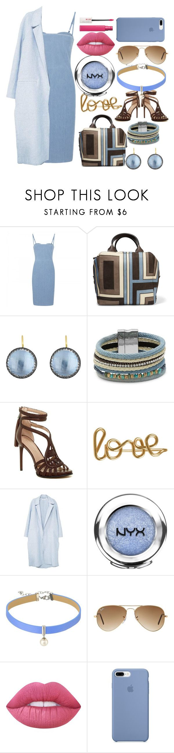 """""""Untitled #21"""" by hollysisther4life ❤ liked on Polyvore featuring beauty, Acne Studios, Tory Burch, Larkspur & Hawk, Design Lab, BCBGMAXAZRIA, Atelier Paulin, MANGO, NYX and Majorica"""