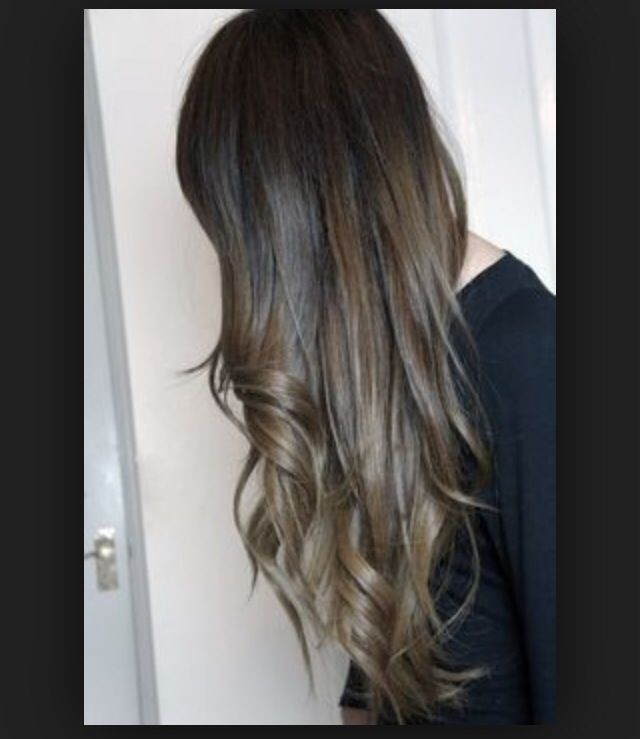 Sombre hair 2014 fashion! Like ombré but natural  and gradient